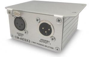 Bsp. Montage zeigt das Panel mit CM-AESX3